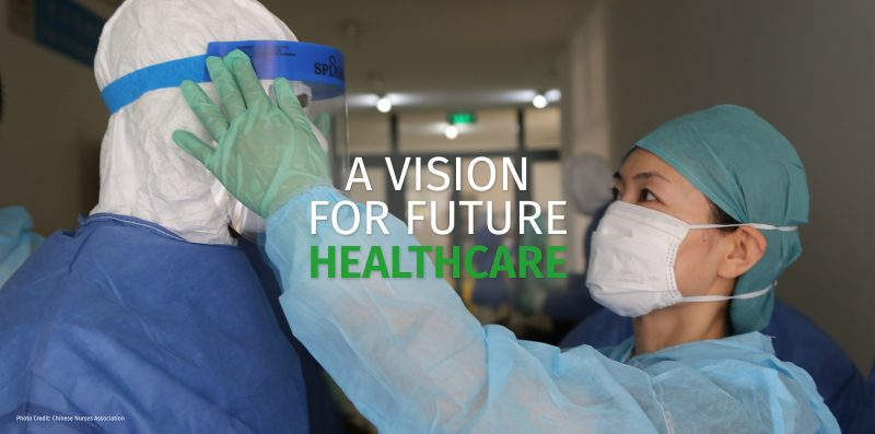 A Voice to Lead IND2021– A vision for future healthcare
